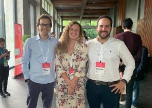 Marcelo Lapi, Catalina Prevett y Andre Bueno